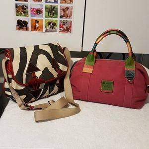 Two Dooney and Bourke Bags